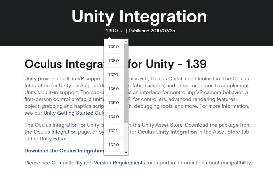 Unity+Oculus Quest 開発メモ - フレームシンセシス